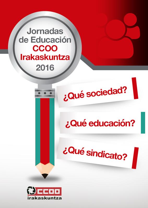 Libro realizado para la Federación de Enseñanza de Euskadi de CCOO.