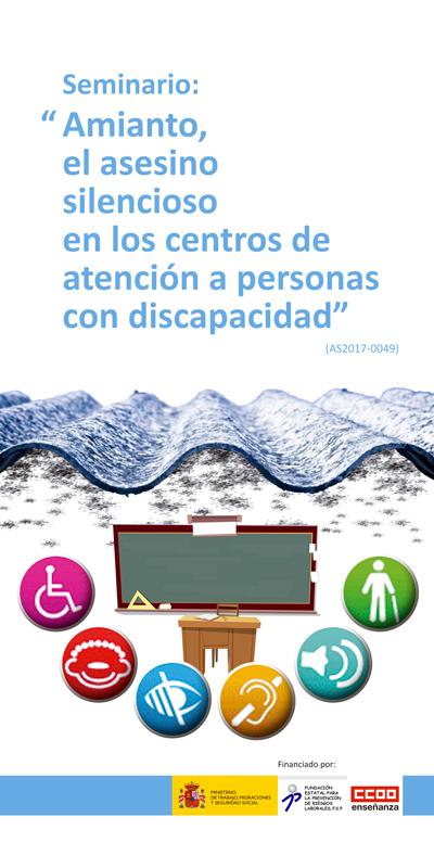 """Roll-up de la FECCOO para el Seminario """"Amianto, el asesino silencioso en los centros de atención a personas con discapacidad"""""""