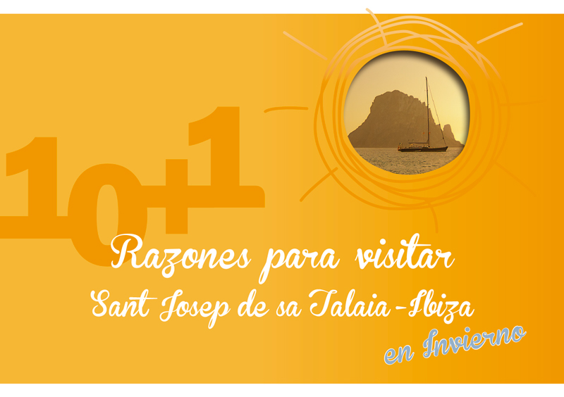 Folleto realizado para Home Comunicación para el fomento del turismo en Sant Josep de sa Talaia - Ibiza